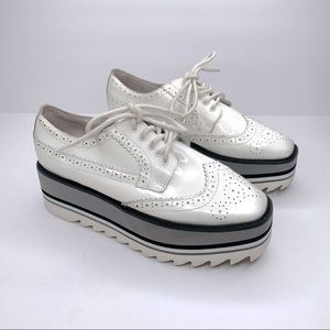 Jeffrey Campbell 'Eliot' Oxford Platform Shoes 8